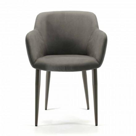 Tillverkad i loungestol i tyg eller läder, 4 delar - Bardella