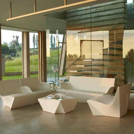 Modern design lounge fåtölj Slide Kami Ichi gjord i Italien