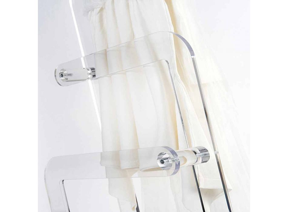 Handdukshållare i Zaneta PMMA plexiglas