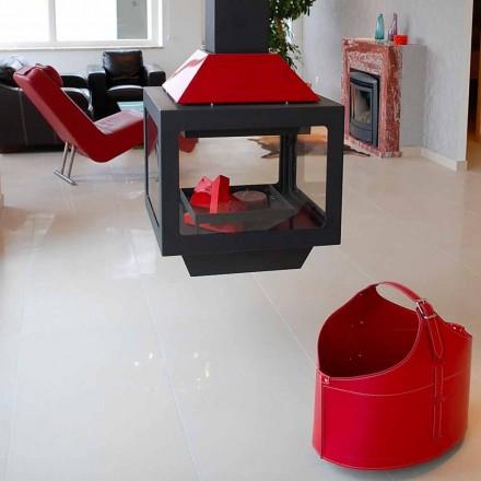 Portalegna från insidan med hjulet i en modern regener läder Fabia