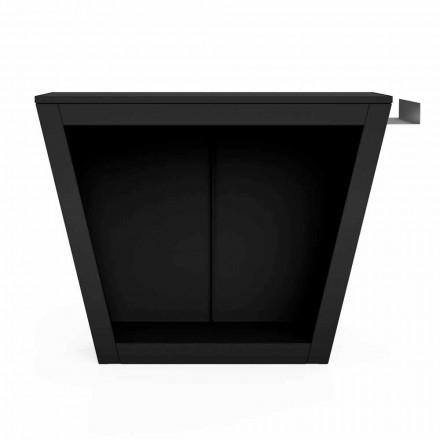 Inomhus eller utomhus vedträhållare med design med bordsskiva - Esplanade