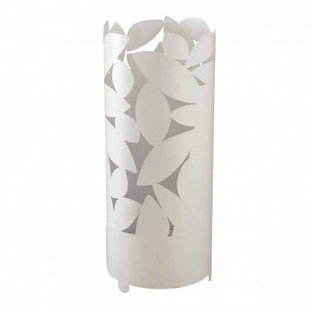 Designparaplystativ med järnblad silhuetter gjorda i Italien - Piumotto