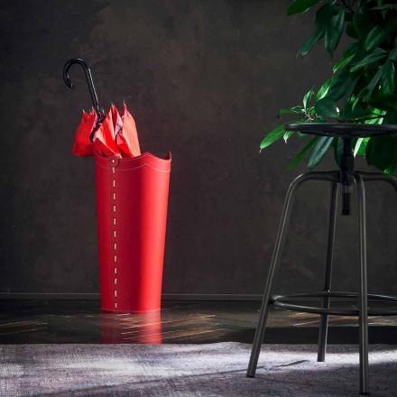 Design paraplyhållare i läder för paraplyhem eller kontor