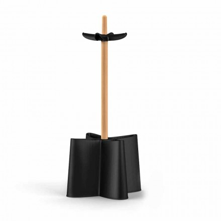 Umbrella design i bok natur och polypropylen Nurri