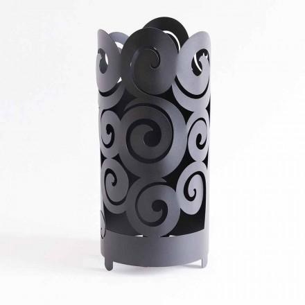 Paraplystativ av modern design i färgat järn tillverkat i Italien - Astolfo