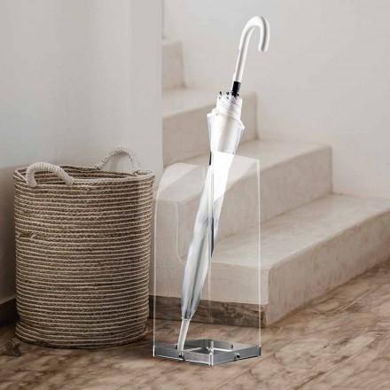 Paraplyställ av original och modern design i transparent plexiglas - Pallium