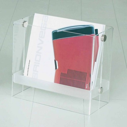 Tidskrift för modern design i klar metakrylat Tanko