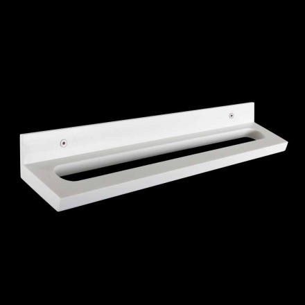 Ta med den på väggen med synliga skruvar i italiensk vit Corian-design - Elono