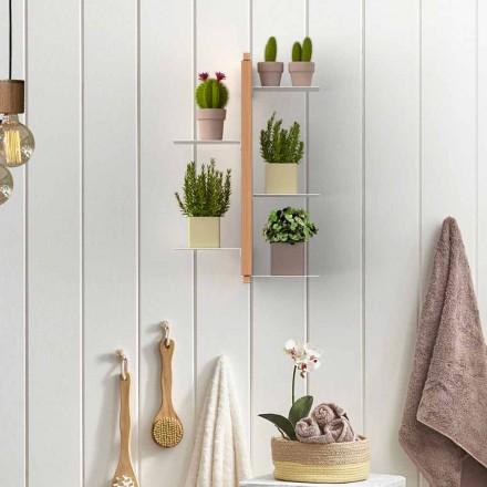 Faster Flora hängande grytlappar gjorts i Italien