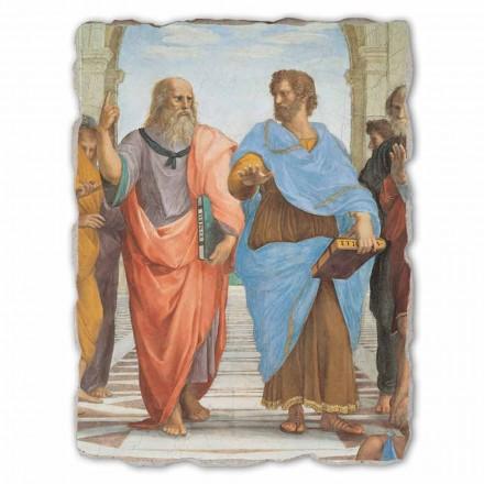 """Raffaello Sanzio """"skola av Athens"""" del. Platon och Artistotele"""