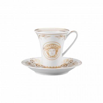 Rosenthal Versace Medusa Gala Cup hög Porslin Design Coffee