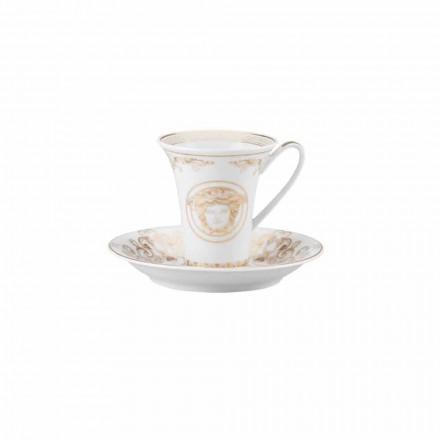Rosenthal Versace Medusa Gala Cup Porslin Coffee Design