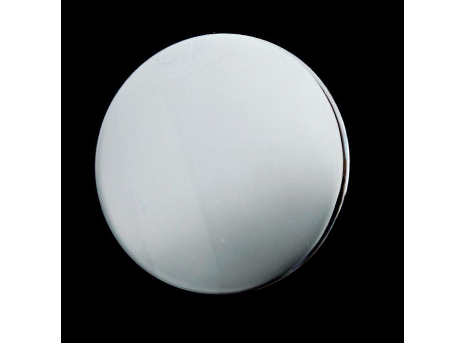 3-håls bidékran intern leverans i mässing handgjord - Fioretta