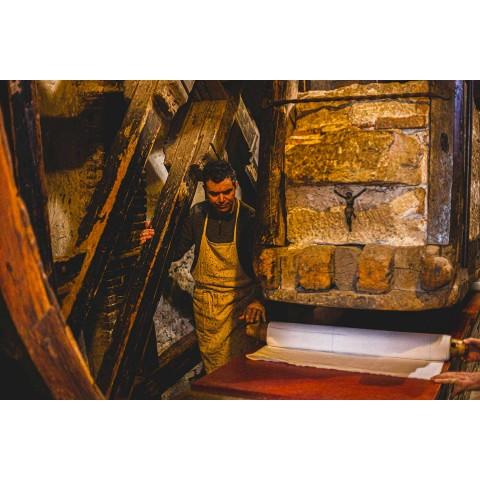 Handmålad hamp Runner Italian Art Unique Piece - Varumärken
