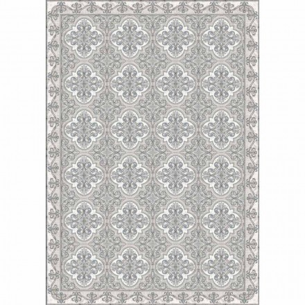 Modern bordsrunner i PVC och rektangulär polyester - Costa