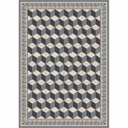 Mönstrad tabellrunner i Pvc och modern polyester - Romio