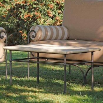 Artisan Garden Lounge med järnkonstruktion tillverkad i Italien - Lisotto