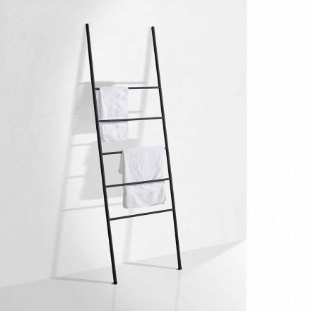 Handduksstege för modern design i vit eller svart metall - Oppalà