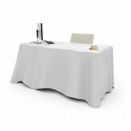 Modernt design skrivbord Tyg, tillverkat i Italien