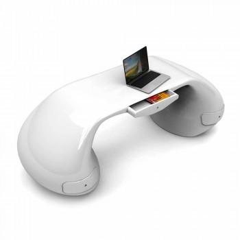 Modernt design skrivbord tillverkat i Italien, Telese