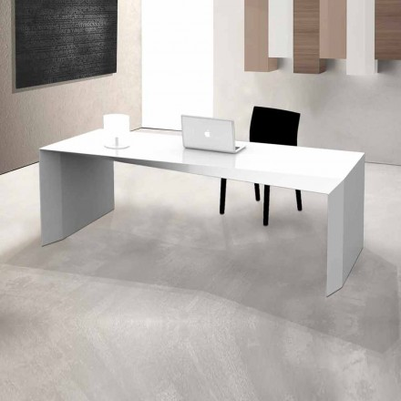 Modernt design kontorsbord tillverkat i Italien, Mistretta