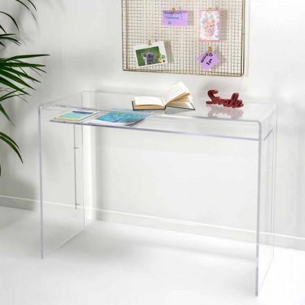 Moderna skrivbord i transparent plexiglas tillverkad i Italien, Barga