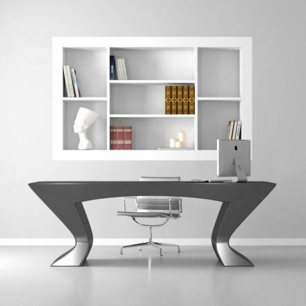 Modernt design skrivbord Nefertiti gjord i Italien