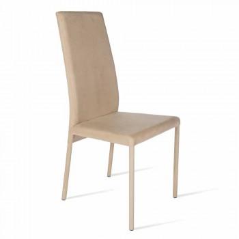 Becca modern design högback stol, tillverkad i Italien