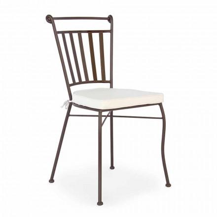 Stol utomhus designstol med eller utan trädgårdsarmstöd - Ionic