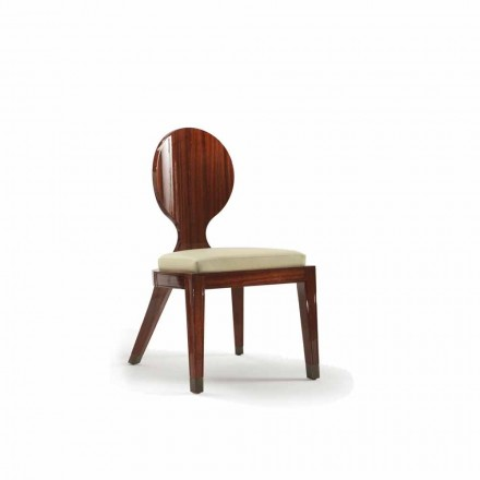 vadderad konstruktion Stol i trä smidig, L51xP53cm, Nicole