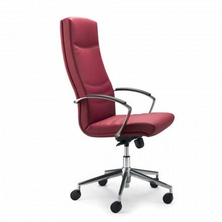 Executive ordförande monocoque kontor läder Debora