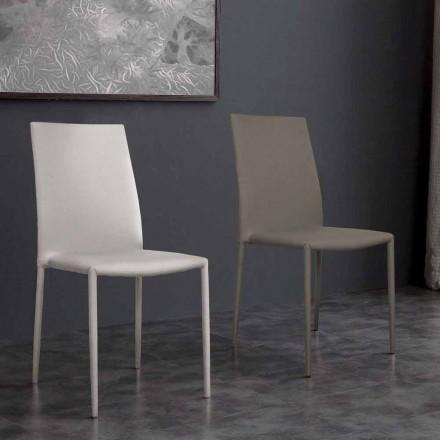 Desio modern design eko-läder stol för kök eller matsal