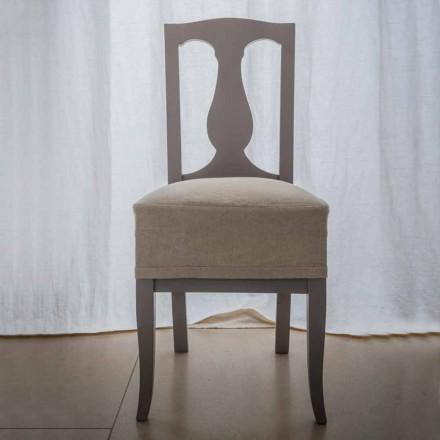 Stol i boklackat bokskog tillverkat i Italien, Kimberly, 2 stychen