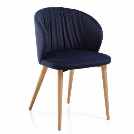 Matsalstolar i tyg Elegant modern design 2 delar - Reginaldo