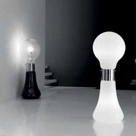 Selene Dina bordslampa med blåst glas ursprungliga Murano