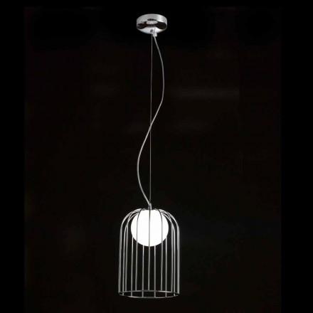 Selene Kluvì taklampa blåst glas Ø19 H 27 / 150cm