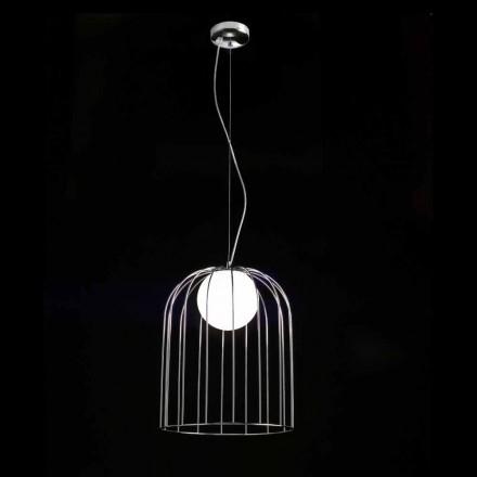 Selene Kluvì taklampa blåst O33 H 41/150 cm glas