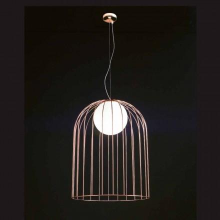 Selene Kluvì taklampa blåst glas Ø54 H 70 / 200cm