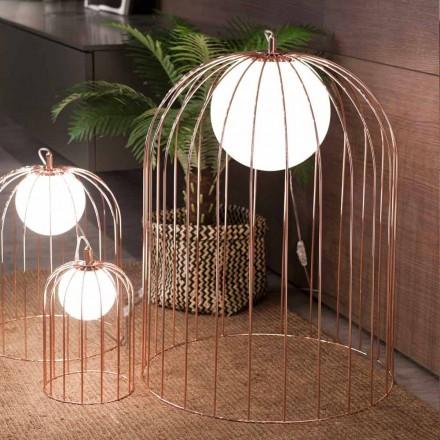 Selene Kluvì från design bordslampa i blåst glas Ø54 H 70cm