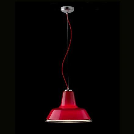 Selene Lampara suspension lampa blåst O37 H 24/140 cm glas