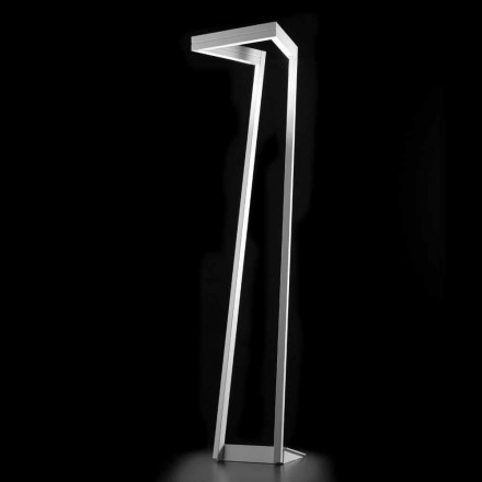 Selene My Way vita LED golvlampa H180cm 40x40, tillverkad i Italien