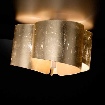 Selene Papiro taklampa kristall tillverkad i Italien Ø46 H28cm