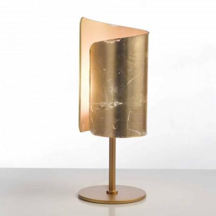Selene Papiro designer bordslampa kristall Ø15 H38cm
