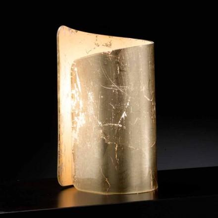 Selene Papiro bordslampa kristall tillverkad i Italien 15x14xH25cm
