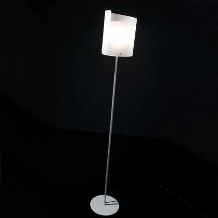 Selene Papiro designer golvlampa H185cm kristall Ø26