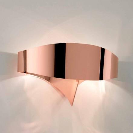 Selene wall lampa Shield galvanisk modern design, tillverkad i Italien