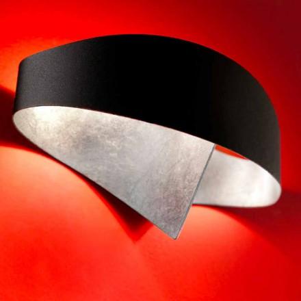 Selene wall lampa Shield tvåfärgade modern design 29x15xH16 cm