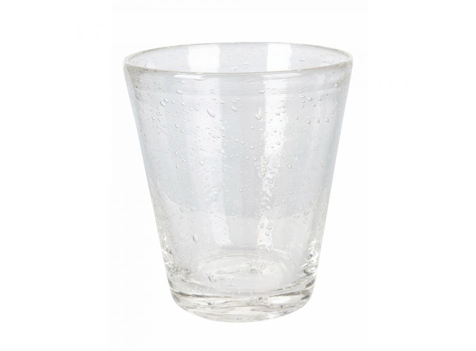 12 bitar färgat blåst glas vattenglasögon Service - Yucatan