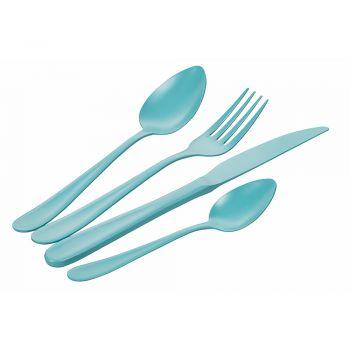 16 delar Blue Shades Bestick Set i rostfritt stål - Oceanus