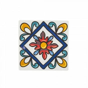 18-bitars moderna Gres och porslinfärgade tallrikstjänster - Iglesias
